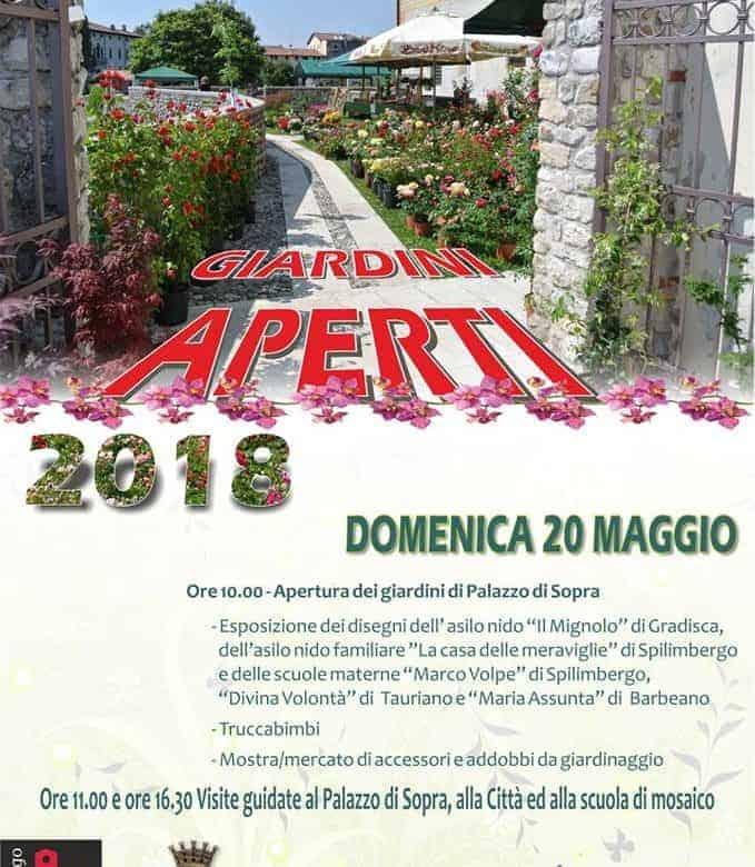 Giardini aperti in friuli venezia giulia 2018 grand for Progettazione giardini friuli venezia giulia